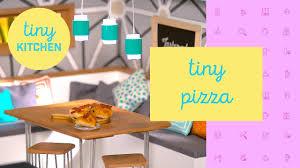 Tiny Kitchen Tiny Pizza Tiny Kitchen Youtube
