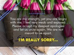 Im Sorry Quotes For Her Mesmerizing I Am Sorry Messages For Girlfriend Apology Quotes Events Greetings