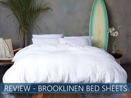 overview of brooklinen bed sheets