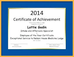 Employee Of The Year Certificate Template Free 10 Year Service Certificate Template