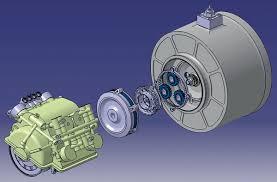 Flywheel Hybrid Systems Kers Racecar Engineering