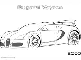 Small Picture 2005 Bugatti Veyron coloring page Free Printable Coloring Pages