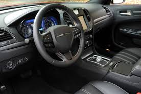 chrysler 300s inside the leather wrapped interior is fully loaded with amenities and luxuries including the latest generation uconnect infotainment