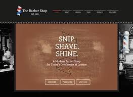 Barber Shop Website The Barber Website Template Wix