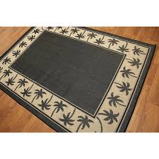 palm tree outdoor rug contemporary palm trees border indoor outdoor rug outdoor palm tree rugs