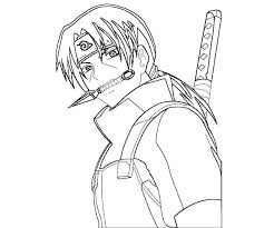 Incredible Inspiration Itachi Coloring Pages Uchiha 7 Crafty
