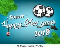 Resultado de imagem para feliz ano novo 2018 futebol