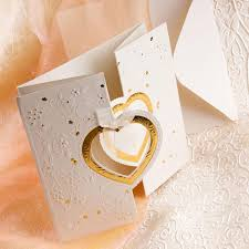wedding invitations with hearts make use of the heart symbol for your wedding invitations