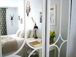 image mirrored closet. Mirror Closet Doors For Bedrooms Mirrored Door Makeover Image E