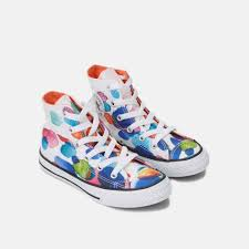 converse for kids. 547713 converse kids\u0027 chuck taylor all star floral petals shoe, for kids o