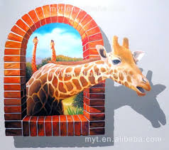 3d wall painting hot deer animal wall painting oil painting on canvas wall picture home