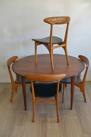 Danish Modern Dining Table Danish Round Teak Dining Table