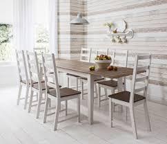 Round Kitchen Tables Uk Rectangular Glass Dining Table Uk Modrest Helena Modern