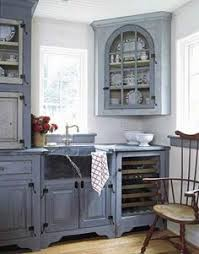 blue country kitchens. Soulful Surroundings In Malvern, PA. Blue Kitchen Country Kitchens N