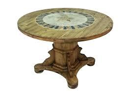 48 round pedestal dining table with leaf pedestal dining table round pedestal dining table w stone