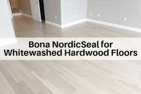 how to refinish wood flooring for a scandinavian style or lightly whitewashed look