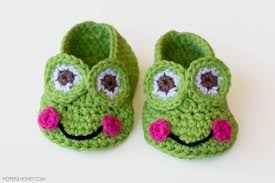 Crochet Baby Shoes Pattern Free Simple Design