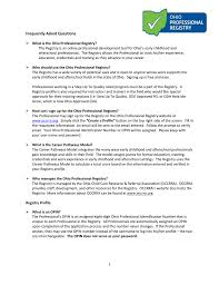 Odjfs Communicable Disease Chart Freqently Asked Questions