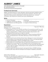 Nurse Manager Resume Interesting Fresenius Clinical Nurse Manager Resume Sample Monroe Wisconsin