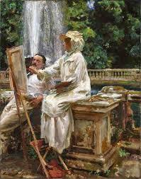 en plein air painting style