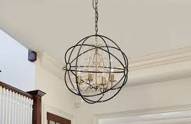 iron orb crystal chandelier iron orb crystal chandelier
