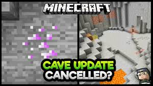 Is the Minecraft Cave Update REJECTED ...