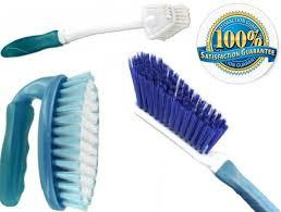 Amazon.com : Scrub Brush Set 3 Piece Household Cleaning Supplies ...