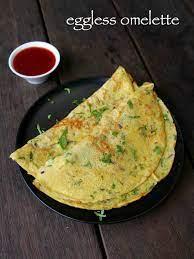 eggless omelette recipe vegetable