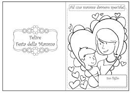 Festa Della Mamma I Biglietti Da Colorare Foto Pourfemme