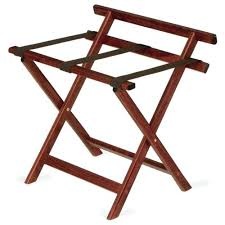 wooden luggage rack uk