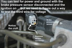 brake pressure sensor abs brake trifecta bimmerfest bmw i what the inputs were what the outputs were how it was wired where the wires went how to make a test jig what readings to expect under brake