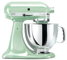 kitchenaid mixer 5 qt series quart tilt head stand pistachio ksm152ps artisan custom metallic kitchenaid mixer