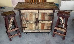 rustic pallet furniture. Pallet Rustic Kitchen Island Furniture