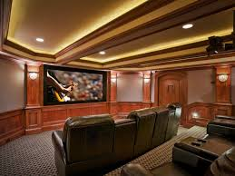 Lamp Decoration Design Interior Awesome Home Theater Decoration Using White LED Lamp In 34