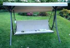 patio swing with canopy parts images replacement swin
