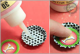 Decorated Bottle Caps How to Make Bottle Cap Crafts and Jewelry Photos and DIY 46