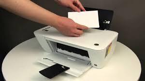 loading specialty paper for the hp deskjet 1510 2540 deskjet ink advantage 1510 and 2540 you