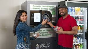 Reverse Vending Machine Uk Extraordinary Glasgow University Unveils Reverse Vending Machine BBC News