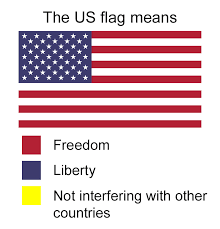 Japanese Color Symbolism Chart Hilarious Meanings Of Flag Colors Of Different Countries
