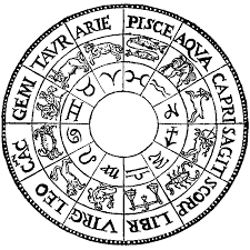 Old Zodiac Chart Zodiac Signs Of The Horoscope And Their Meanings In Astrology