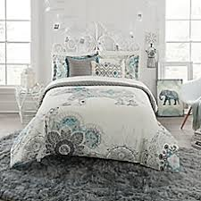 College Dorm Comforters & Twin XL Bedding Sets - Bed Bath & Beyond & image of Anthologyâ?¢ Kiran Reversible Comforter Set Adamdwight.com