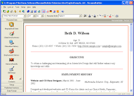 Free Resume Software Professional Resume Templates