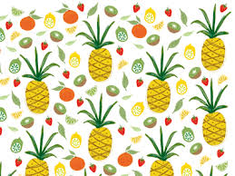 Pineapple Pattern Magnificent Pineapple Pattern By Emily Harris Dribbble