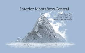 En un macizo montañoso, las cumbres están conectadas por crestas y quedan separadas entre ellas por collados o por pasos, que son los puntos más bajos de esa crestería. Interior Montanoso Central By