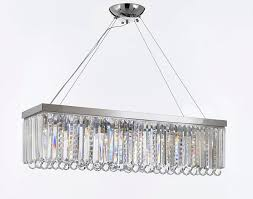 10 light crystal lighting pendant chrome finish clear crystal collection g902 modern collection this item also works with energy efficient bulbs