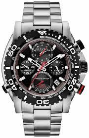 bulova mens precisionist stainless steel watch 98b212 bulova 98b212