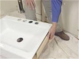 Install An ApronFront Sink In A ButcherBlock Countertop How - Bathroom sink installation