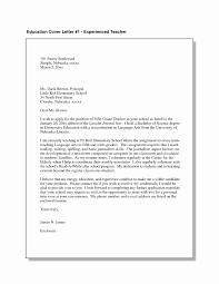 Preschool Teacher Cover Letter Sample Tips Ideas Of Application