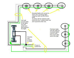 recessed lighting how to connect recessed lights in series wiring recessed lights in series diagram at Wiring Recessed Lights In Parallel Diagram Power At Light