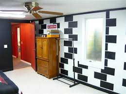 good way to cover up cinder block walls in the bat